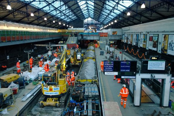 London Underground Sub-Surface Track Enabling Works