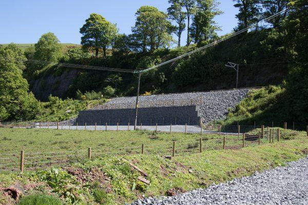 Fairlie Gabion Wall