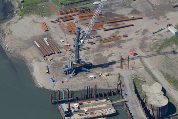 Able Seaton Port, Quay 1