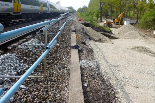 Hoads Wood Network Rail Emergency Stabilisation Works