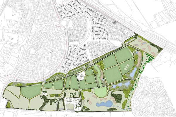 Scaffold Hill/Rising Sun Country Park Masterplan